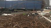 淄博市张店区附近长期大量回收报废混合金属
